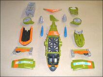 Jungle set components
