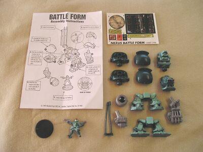 Hundred Battleform contents