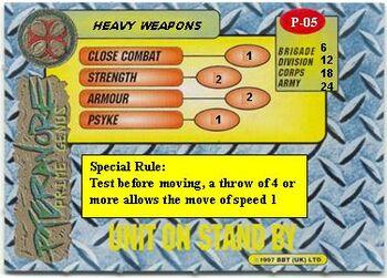 Pt Heavy Weapons card rear
