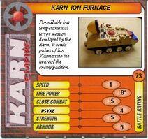 KARN CARD ION FURNACE F