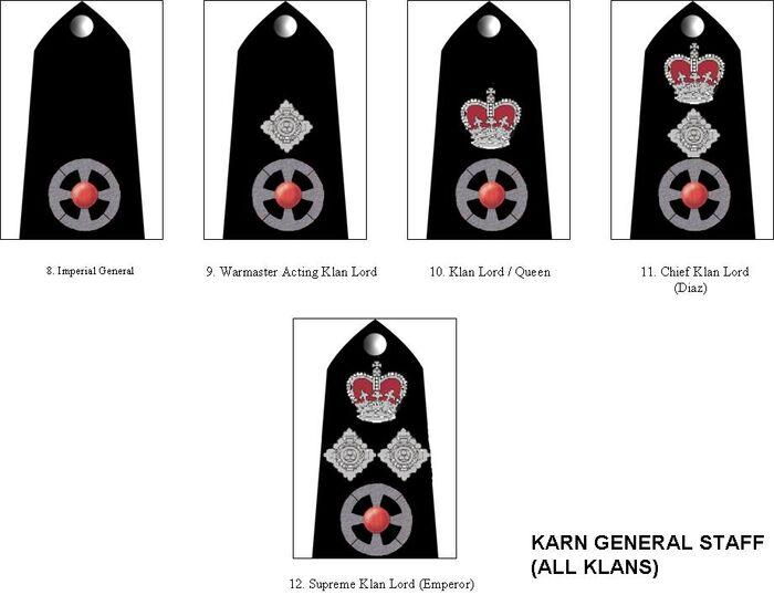 Karn General Staff Insignia
