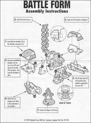Karn battleform assembly
