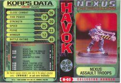 X nexus Assault trooper