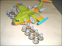 Droplifter with Nexus Troopers