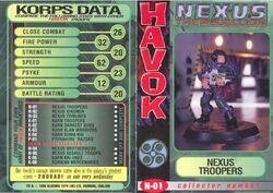 X nexus trooper