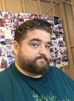 Jorge Garcia (hair cut)