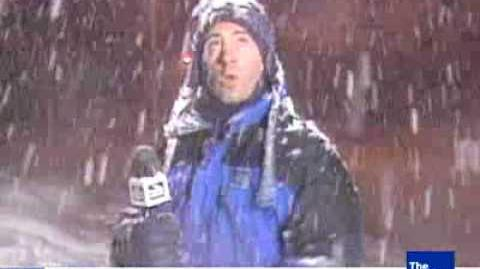 Jim Cantore Thunder Snow