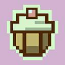 Pixel Cupcake 128