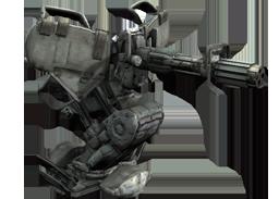 Mg-turret