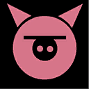 Icons emblems piggy