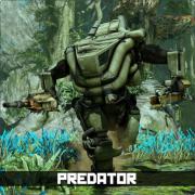 Predator fullbody labeled180