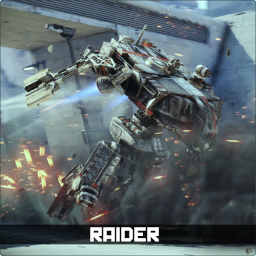 Raider fullbody labeled256