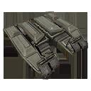 Icon styles brass C armor 02