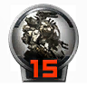 Icons achievements PilotLVL 15