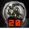 Icons achievements PilotLVL 20