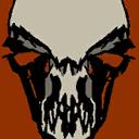 Crow Skull 128
