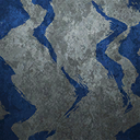 Icons patterns smoke-blue