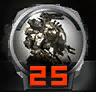 Icons achievements PilotLVL 25
