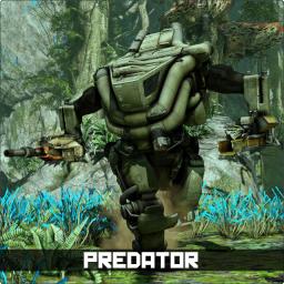 Predator fullbody labeled256