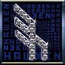 Icons emblems diamonds