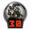 Icons achievements PilotLVL 30