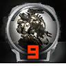 Icons achievements PilotLVL 09