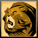 Icons emblems Lion