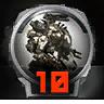 Icons achievements PilotLVL 10