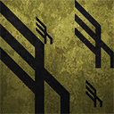 Icons patterns hawken-gold