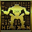24k Gold 128