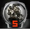 Icons achievements PilotLVL 05
