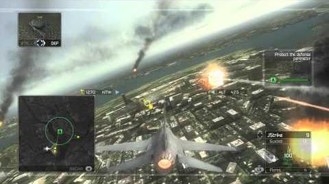 Tom Clancy's H.A.W.X - Mission 10- Red Eagle -HD- -Elite Difficulty-