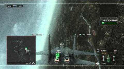 Tom Clancy's H.A.W.X - Mission 11- Torchlight -HD- -Elite Difficulty-