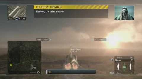 Tom Clancy's H.A.W.X - Mission 3- Cobalt -HD- -Elite Difficulty-