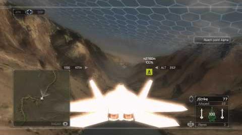 Tom Clancy's H.A.W.X - Mission 19- Monarch -HD- -Elite Difficulty-