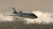 General Ikuye's plane approaching combat