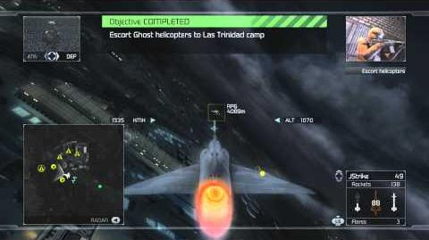 Tom Clancy's H.A.W.X - Mission 7- Backfire -HD- -Elite Difficulty-