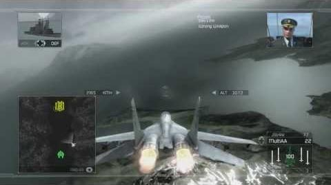Tom Clancy's H.A.W.X - Mission 8- Ulysses -HD- -Elite Difficulty-