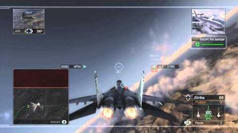 Tom Clancy's H.A.W.X - Mission 4- Blacklight -HD- -Elite Difficulty-
