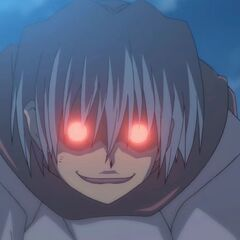 Hayate shows his evil face (S1)