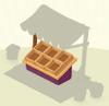 Crates Purple Wooden