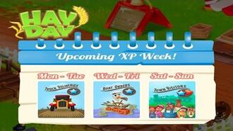 Hay Day Double XP Week Events