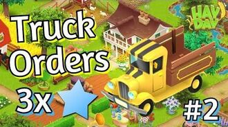 Hay Day Truck Orders Event 3x XP 2