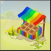 Roadside Shop Rainbow Style