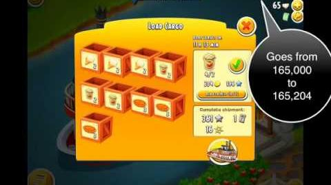 Hay Day Glitch Double XP and Coins From Boat Orders!