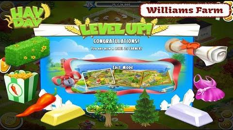 Hay Day Williams Farm - Level 25, Lets Play
