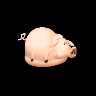 Cerdo lleno