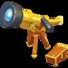 Telescopio dorado