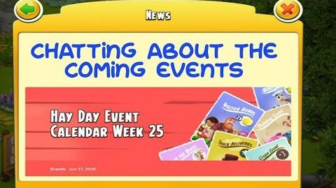Hay Day - Chatting and Week 25 Events