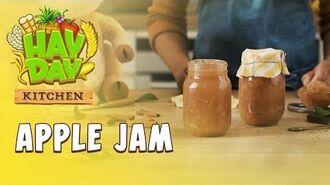 Hay Day Kitchen Apple Jam
